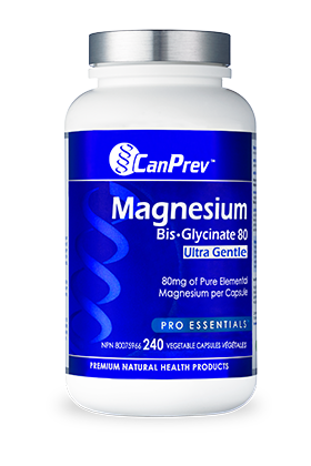 Magnesium Bis-Glycinate 80 Ultra Gentle 240 Capsules