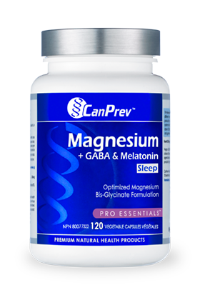 Magnesium + GABA & Melatonin for Sleep