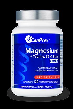 Magnesium + Taurine, B6 & Zinc for Cardio